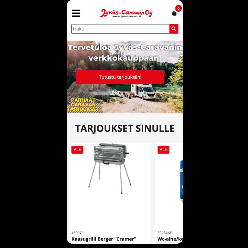 Jyväs-Caravan mobiili